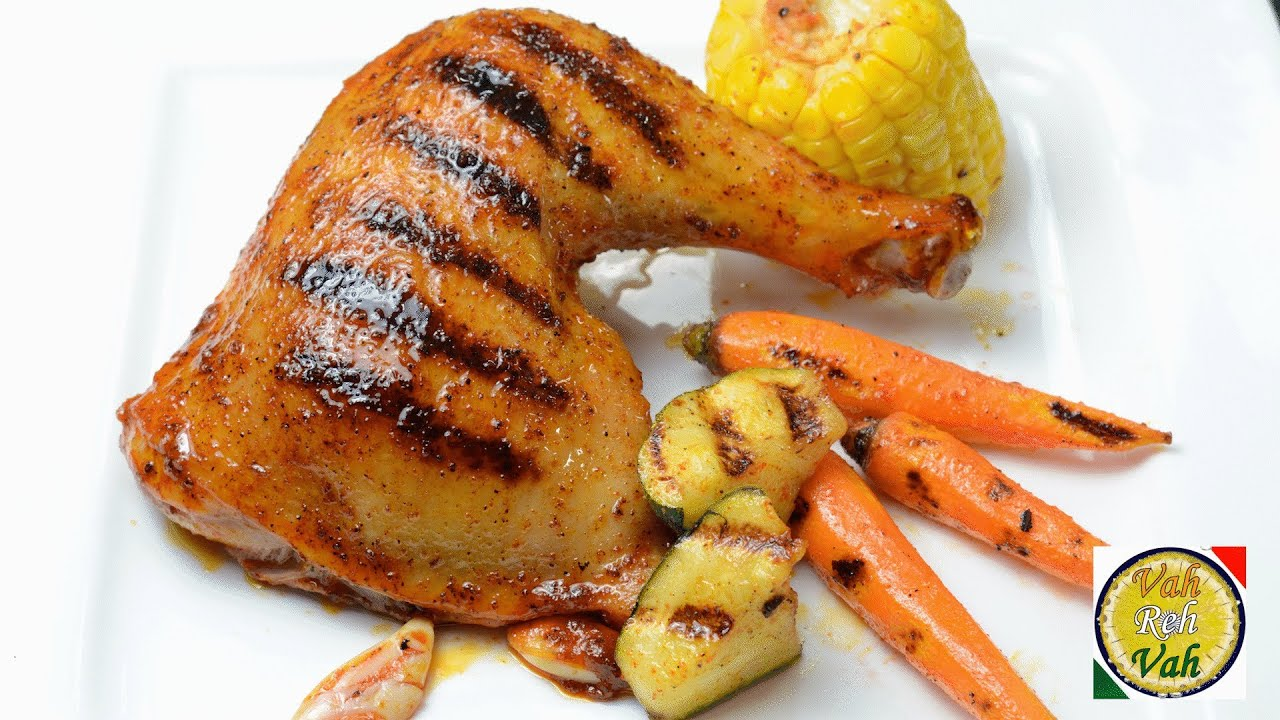 Oven roasted chicken legs by vahchef vahrehvah youtube ccuart Image collections