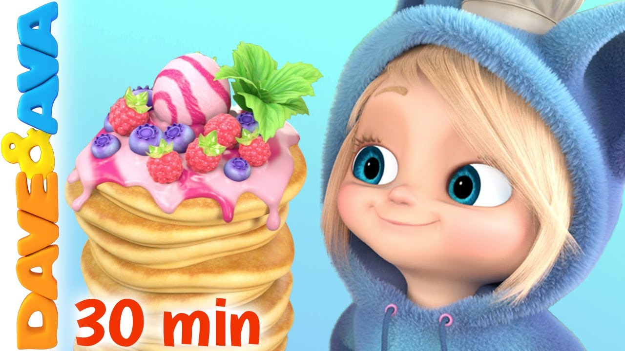🥞 Mix a Pancake and More Nursery Rhymes and Baby Songs by Dave and Ava 🥞