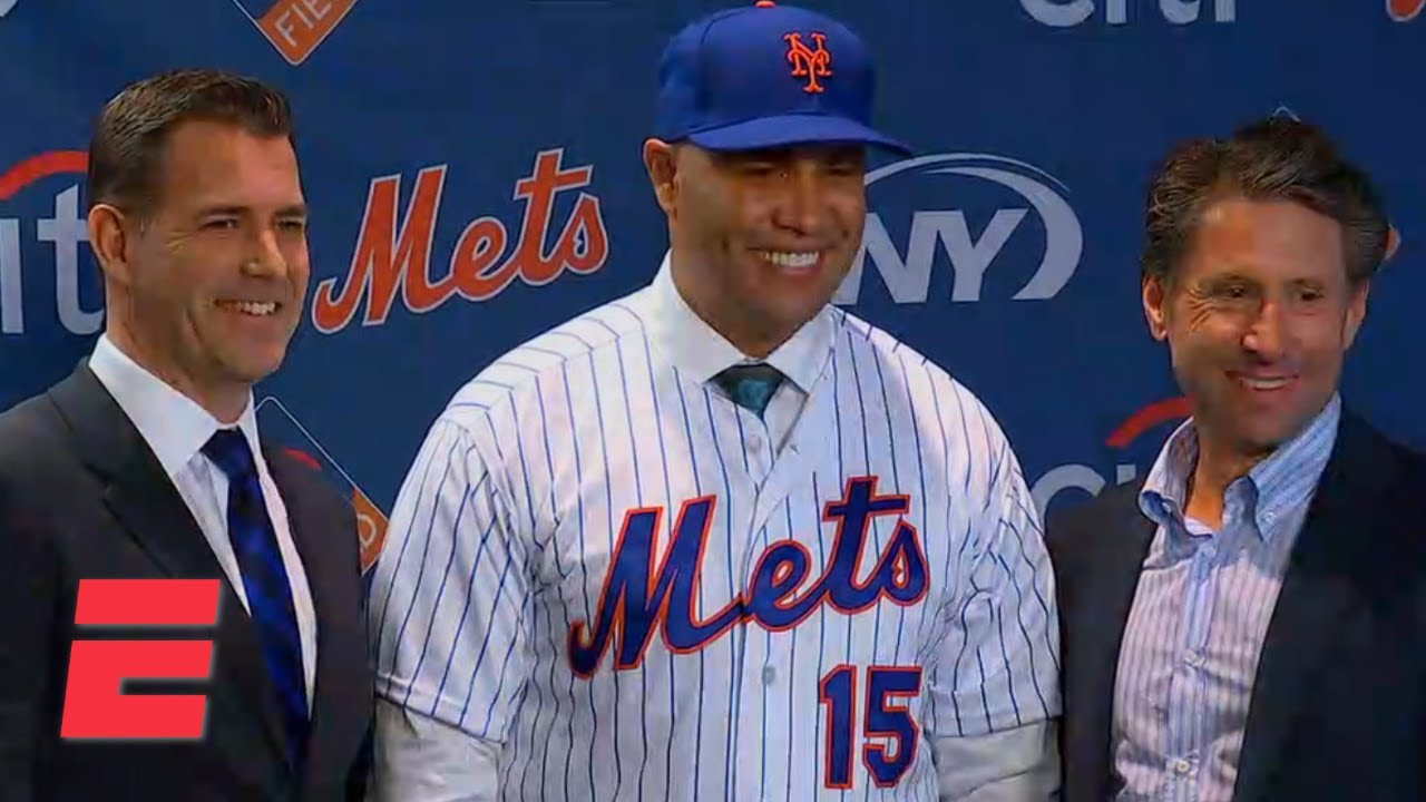 The Mets Introduce Carlos Beltran As The New Manager Mlb On Espn