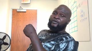 james toney clowns shannon briggs lets go chump esnews boxing