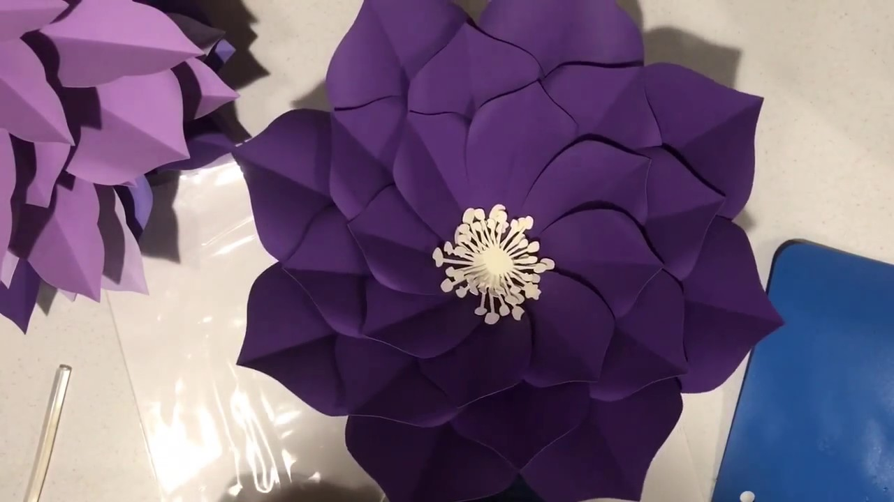 fe24dc38a2 Free Plumeria giant paper flower tutorial by Seattle Giant Flowers ...