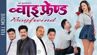 Boyfriend    New Nepali Full Movie 2021   Saroj Khanal, Puskar Regmi, Mahima Silwal