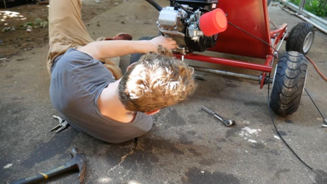 212cc Go Kart Cheap DIY Performance mods!! (Part 3)