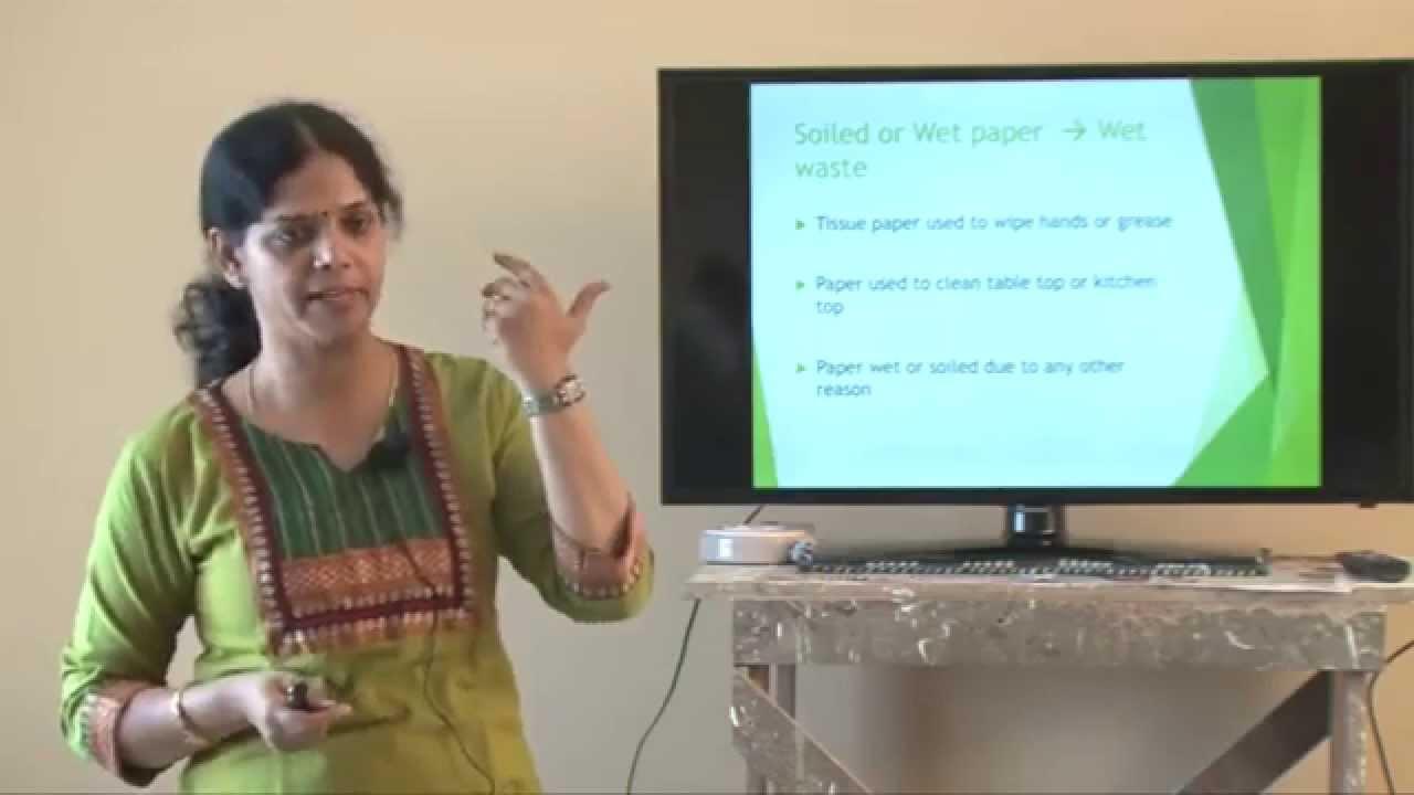 Waste management talk by Veena Rajappa - YouTube