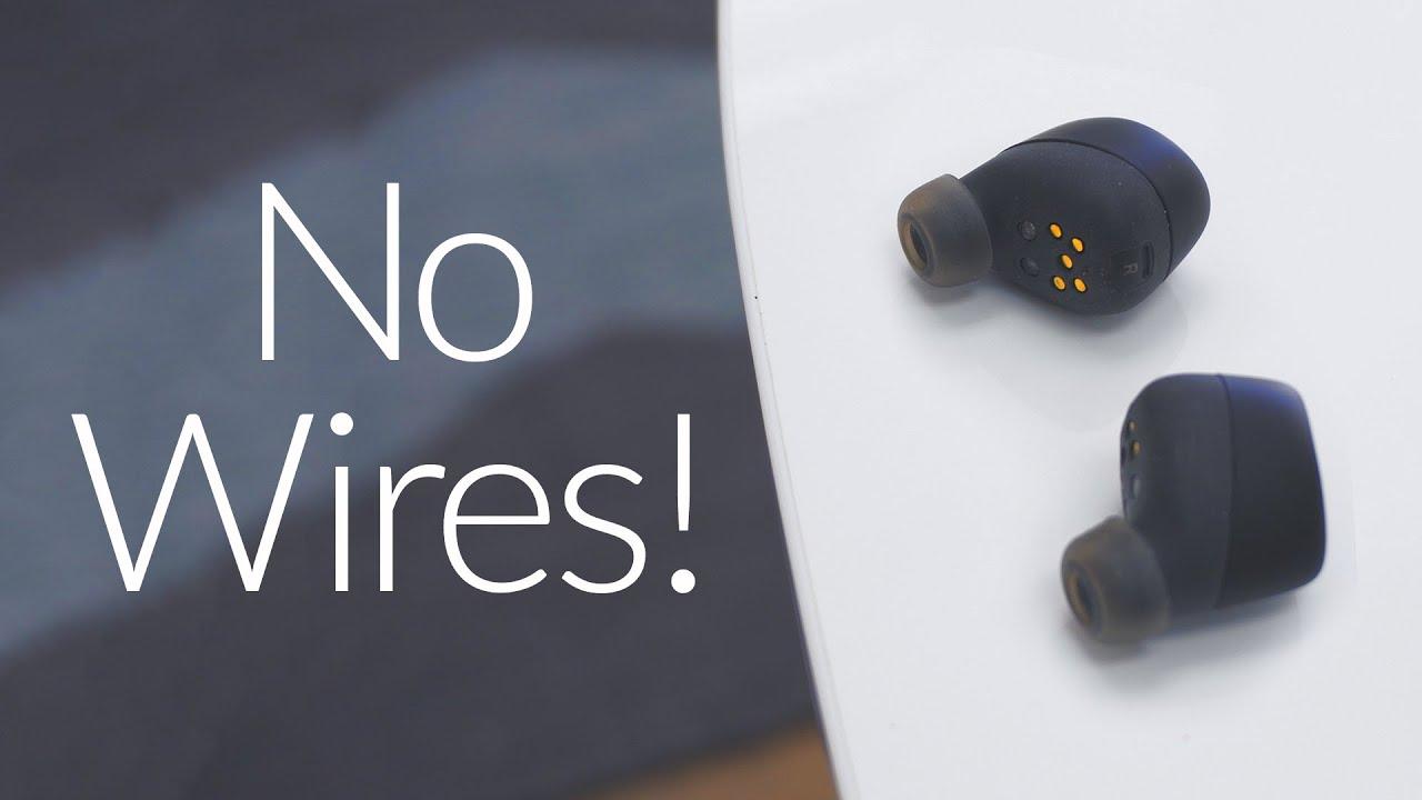 12cc4f654a0 Completely Wireless Headphones - Motorola VerveOnes Review! - YouTube