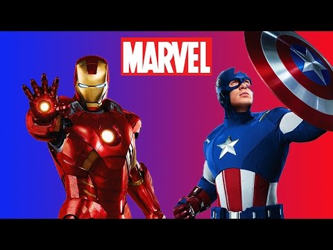 DISNEY MARVEL AVENGERS: DIY Handmade Craft Figures Featuring IRONMAN & CAPTAIN AMERICA!