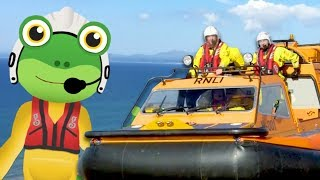 Gecko and The Hovercraft | Gecko's Real Vehicles | Trucks For Kids | Educational Videos For Toddlers