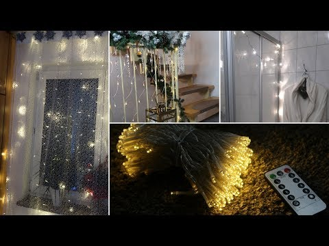 Unique Ways to Decorate With Curtain & or String Lights | DI