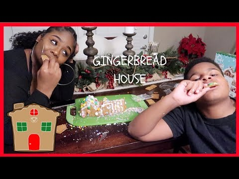 🎄VLOGMAS DAY 16 🎄GINGERBREAD HOUSE