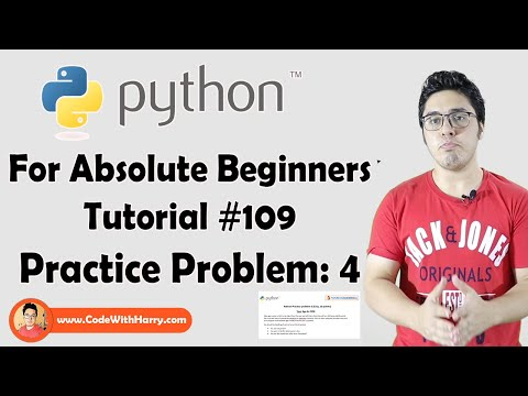 Python Problem 4 | Python Tutorials For Absolute Beginners In Hindi #109 thumbnail