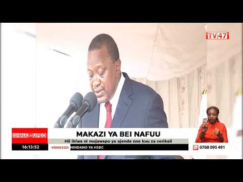 Affordable housing agenda gets boost as the president launches mega housing project in Mavoko