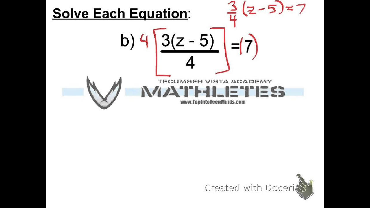 33 how to solve equations involving fractions and distribution mpm1d grade 9 math youtube - Solving Equations With Fractions Worksheet