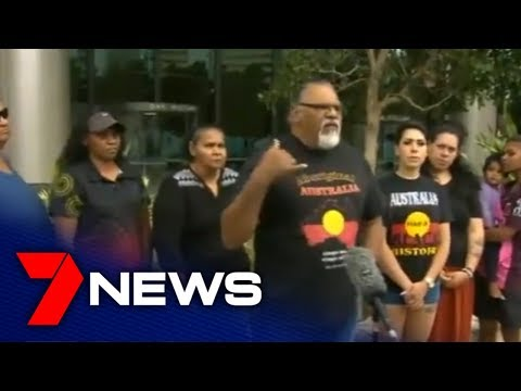 Traditional Landowners March On State Parliament In Anti-Adani Protest   7NEWS