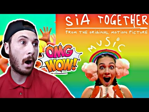 SIA - TOGETHER (from the motion picture music) REACTION!!