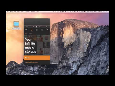 VOX Music Player with Loop Music Cloud Storage