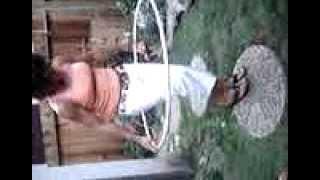 Hoola Hoop Grape Stomp Lady