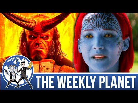 Dark Phoenix & Hellboy Trailers - The Weekly Planet Podcast