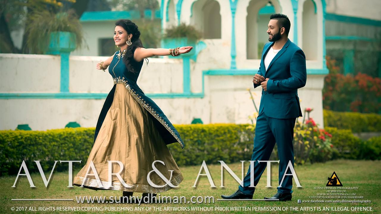 Avtar Anita Pre Wedding Sunny Dhiman Photography Chandigarh India You