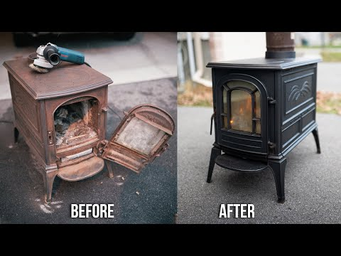 restoring,-refurbishing,-removing-rust-and-installing-a-cast-iron-wood-stove!