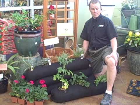 The Garden Sock The Self Contained Garden perfect for Small Space