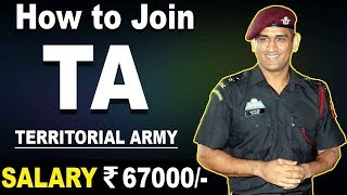 How to join Territorial Army ( TA ) in Indian Army ? | TA Army Officers Selection - Defence Gyan