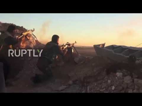 Syria: Syrian Army pushes IS back in Homs Governorate counter-offensive