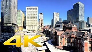 Tokyo Station & Marunouchi - 丸の内 - 4K Ultra HD