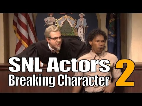 SNL Bloopers & Actors Breaking Character Compilation (Part 2)