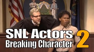 snl bloopers actors breaking character compilation part 2
