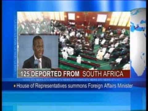 125 deported from South Africa-House of Reps Summons Foreign Affairs Minister