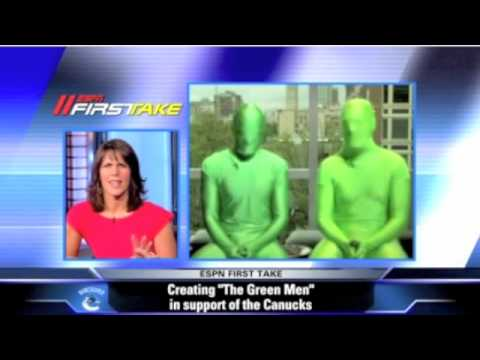 Vancouver Greenmen on ESPN