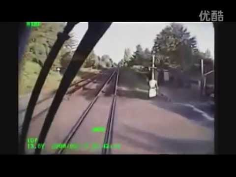 Train crash videos