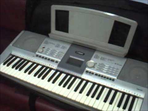 venda de teclado musical yamaha psr 295 youtube. Black Bedroom Furniture Sets. Home Design Ideas