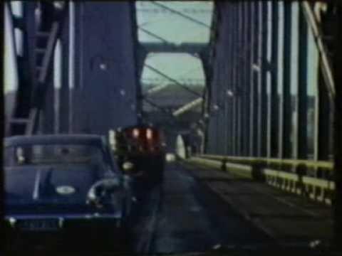 Bilresa från Hersby, Lidingö, via Stockholm - och tillbaka igen (1963)