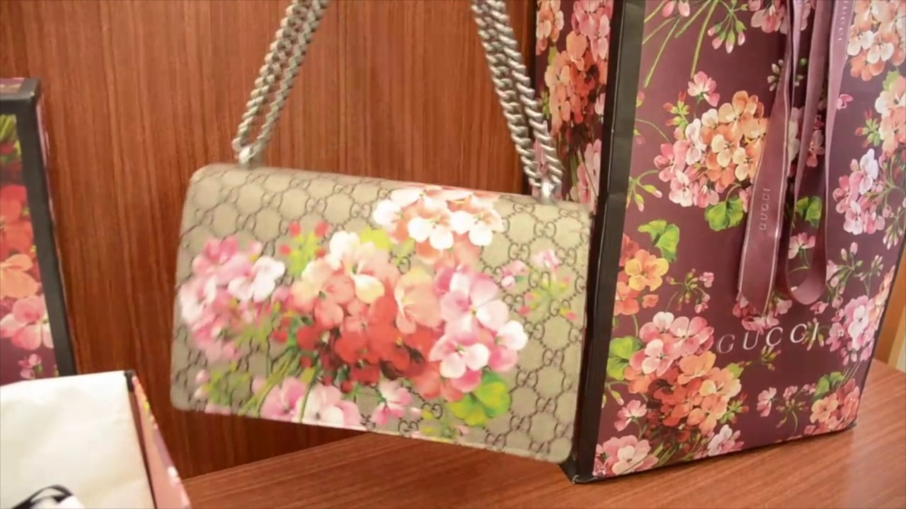 1cb0b4b9a Unboxing Gucci Dionysus Blooms - ICONICS PRELOVED LUXURY - YouTube