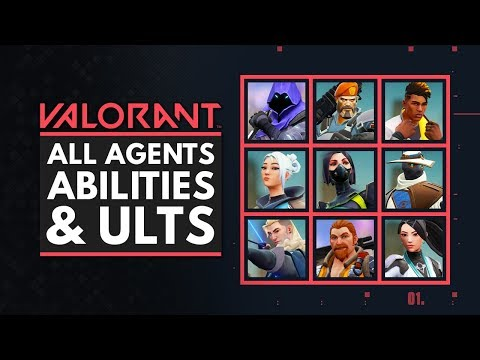 VALORANT | All Characters, Abilities & Ultimates