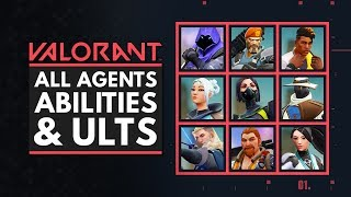 VALORANT | All Characters, Abİlities & Ultimates