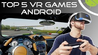 TOP 5 VR Games  High Graphics  Android  2017