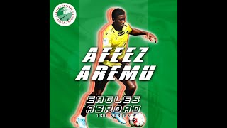Afeez Aremu quot My favourite artiste is WizkidI love him so muchquot The Eagles Abroad Series