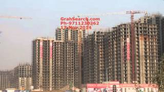 Anthem French Apartment Noida Extension construction update on 17 Nov 2014