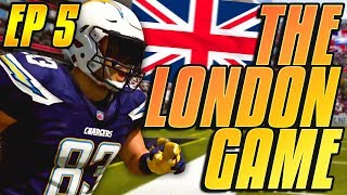 PLAYING IN LONDON! THOMAS DUARTE'S PLAYER CAREER EP.5! Madden 19 Career Mode