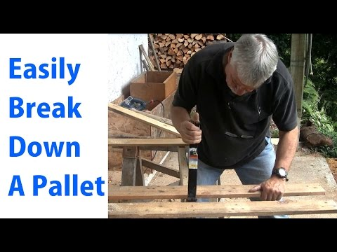 how precisely to effectively Disassemble a Pallet for Pallet Projects: Woodworking for newbies #10\