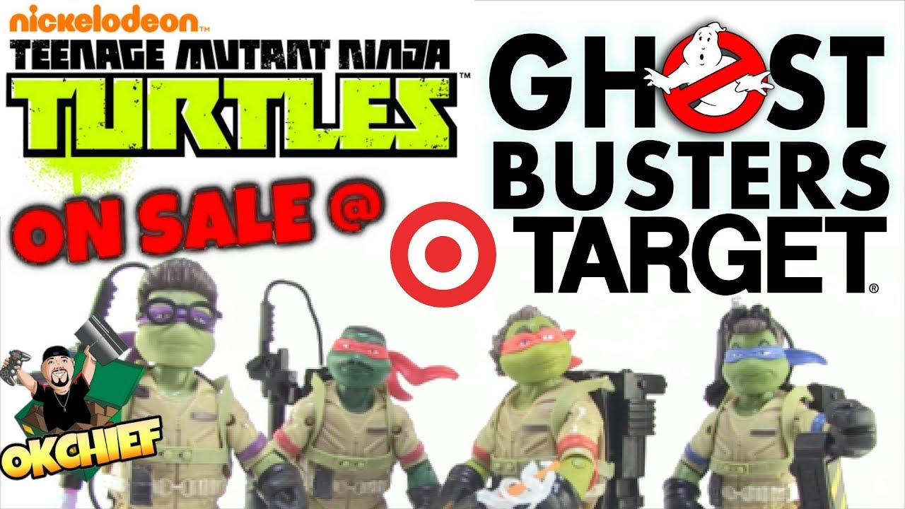 Tmnt Ghostbusters Crossover Toys On Sale Right Now Target