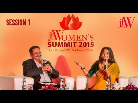 JFW Women's Summit 2015 | Session 1 | Interview with Vidya Balan | March for change | JFW Magazine