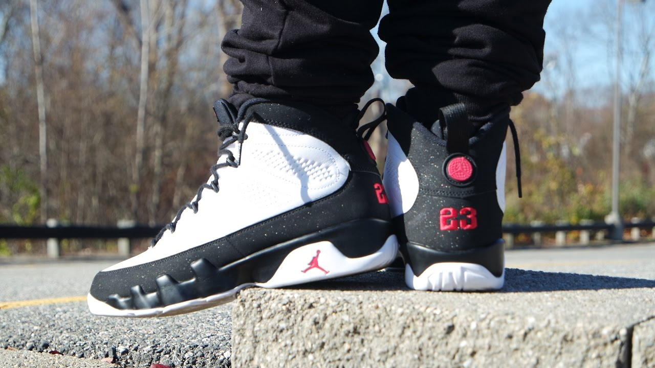 hot sale online b518a 49be9 2016 AIR JORDAN 9 OG SPACE JAM REVIEW   ON FEET!