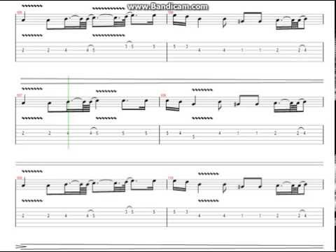 The Unforgiven Metallica Guitar Tabs Youtube