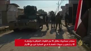 القوات العراقية تطلق حملة لاستعادة مدن بالأنبار