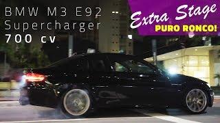 PURO RONCO: BMW M3 700 CV SUPERCHARGER + AKRAPOVIC | FlatOut Midnight Extra Stage