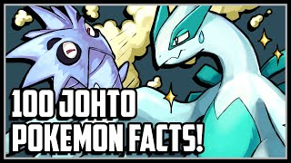 100 Facts About the 100 Johto Pokemon!