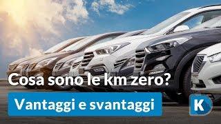 Cosa sono le auto km 0?